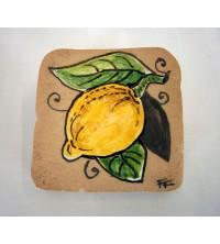 Piastrella rustica con limone