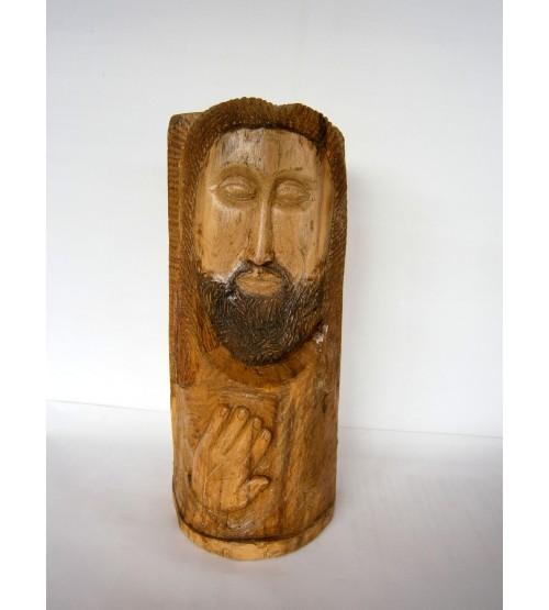 """Maschera di legno """"Giudice"""""""