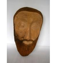 """""""Maschera"""" di legno"""